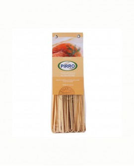 Tagliatelle salmone pasta secca ai gusti 250 gr - Pastificio Pirro