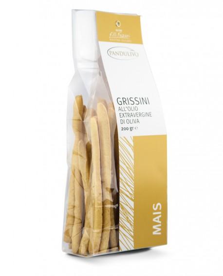 Grissini all'olio EVO Pandulivo Mais - 200 g - Olearia San Giorgio