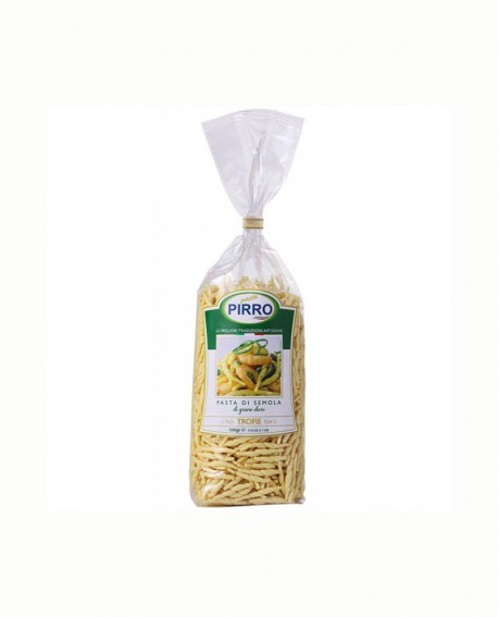 Trofie - pasta di semola 500 gr - Pastificio Pirro