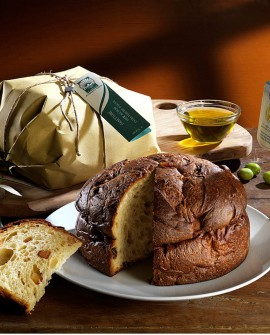 Panettone all'olio evo Pandulivo - 1 kg - Olearia San Giorgio