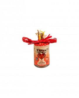 Condimento a base di Peperoncino Naso di cane - 90 g - Fuoco d'Amore - Cuore - Delizie di Calabria