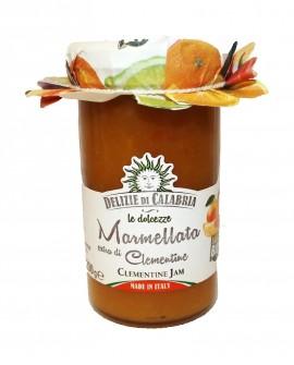 Marmellata Extra di Clementine di Calabria IGP BIO - 290 g - Delizie di Calabria