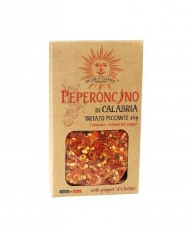 Peperoncino Calabria Tritato piccante in astuccio - 40 g - Delizie di Calabria