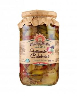 Antipasto Tipico Calabrese - 950 g - Delizie di Calabria