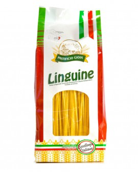 Linguine pasta artigianale di semola di grano duro - 500g - essiccata a bassa temperatura - Pastificio Gioia