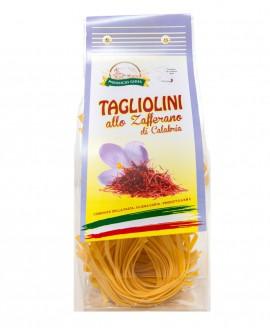 Tagliolini allo Zafferano pasta artigianale di semola di grano duro - 250g - essiccata a bassa temperatura - Pastificio Gioia