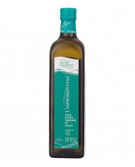 Olio L'Aspromontano extra vergine d'oliva - bottiglia 750 ml - Olearia San Giorgio