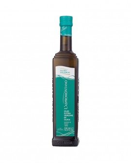 Olio L'Aspromontano extra vergine d'oliva - bottiglia 500 ml - Olearia San Giorgio