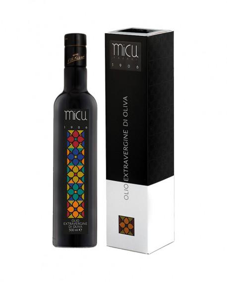 Olio Micu 1906 Grand Cru extra vergine d'oliva - bottiglia 500 ml - Olearia San Giorgio