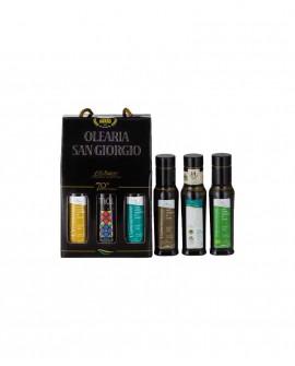KIT Degustazione extra vergine d'oliva - n.6 bottiglia 100 ml - Olearia San Giorgio