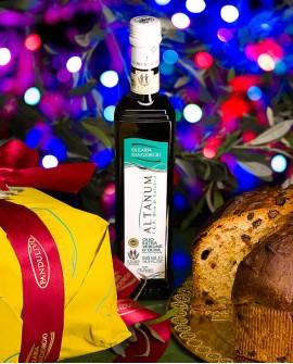Pandulivo Cioccolato e Fichi - 1 Kg - Dolce natalizio all'olio extravergine d'oliva - Olearia San Giorgio