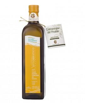 Monocultivar Olio L'Ottobratico extra vergine d'oliva - Presidio Slow Food - bottiglia 750 ml - Olearia San Giorgio