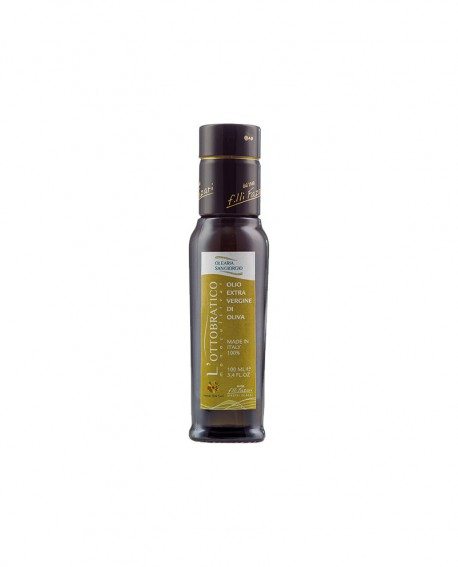 Monocultivar Olio L'Ottobratico extra vergine d'oliva - Presidio Slow Food - bottiglia 100 ml - Olearia San Giorgio