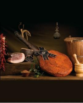 Prosciutto di Suino Nero di Calabria 8,0 kg Salumificio Tenuta Corone - Madeo