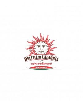 Peperoncini ripieni con Formaggio vaccino 100% latte italiano - 170 g - Delizie di Calabria