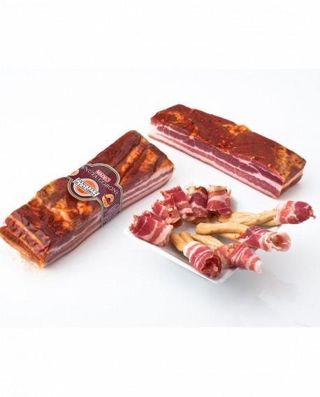 Pancetta di Calabria D.O.P. piccante 1,5 kg Tenuta Corone - Salumificio Madeo