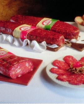 Spianata Calabrese rossa dolce 400 g Salumificio Madeo