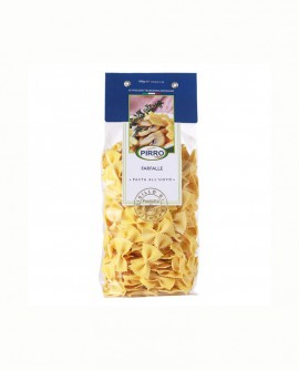 Farfalle pasta secca all'uovo 500 gr - Pastificio Pirro