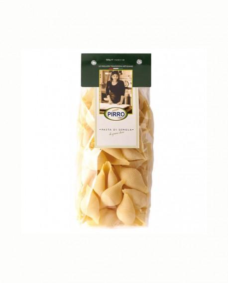 Lumaconi - pasta di semola 500 gr - Pastificio Pirro