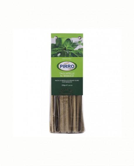Tagliatelle Basilico  - pasta secca ai gusti 250 gr - Pastificio Pirro