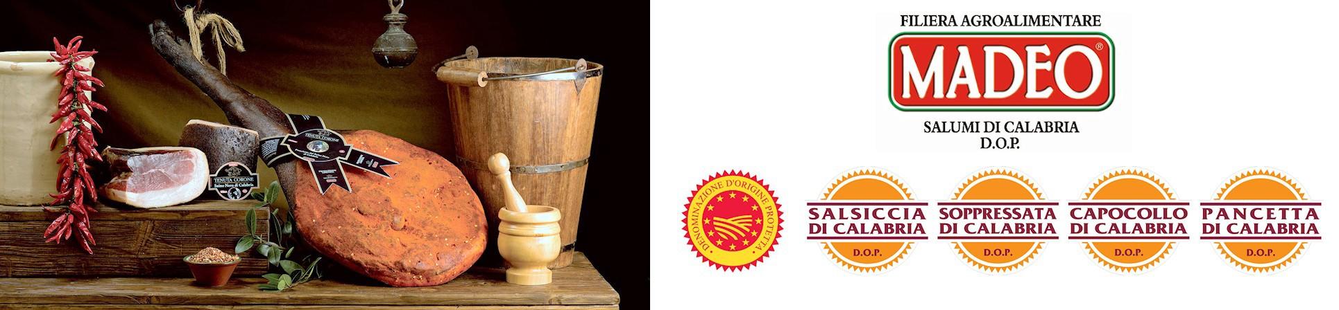 Madeo salumificio tipico calabrese - vendita online